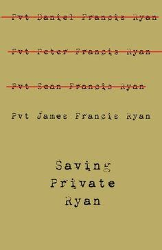Saving private Ryan essay analysis